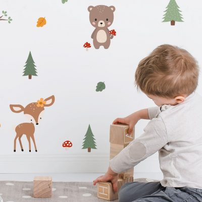 "Wall Stickers ""Forest Animals"""